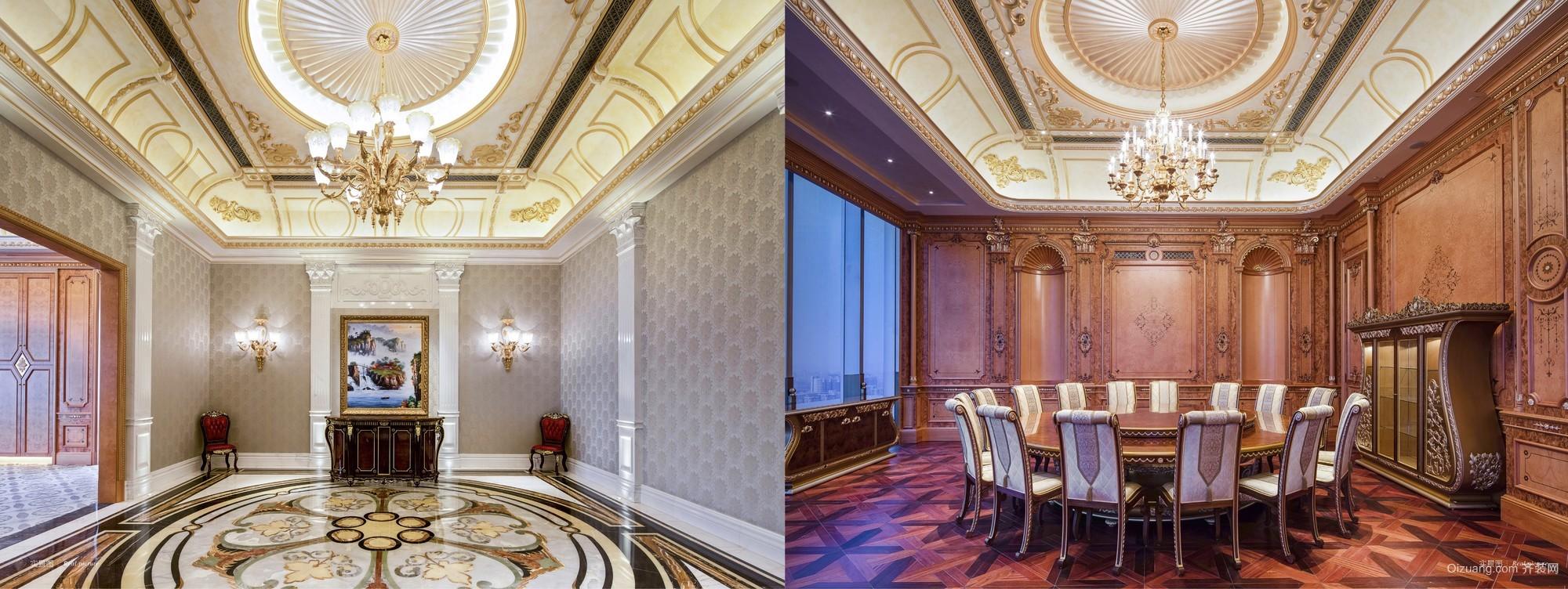 北京天圆祥泰酒店混搭风格装修效果图实景图