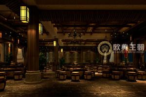 三国主题餐厅