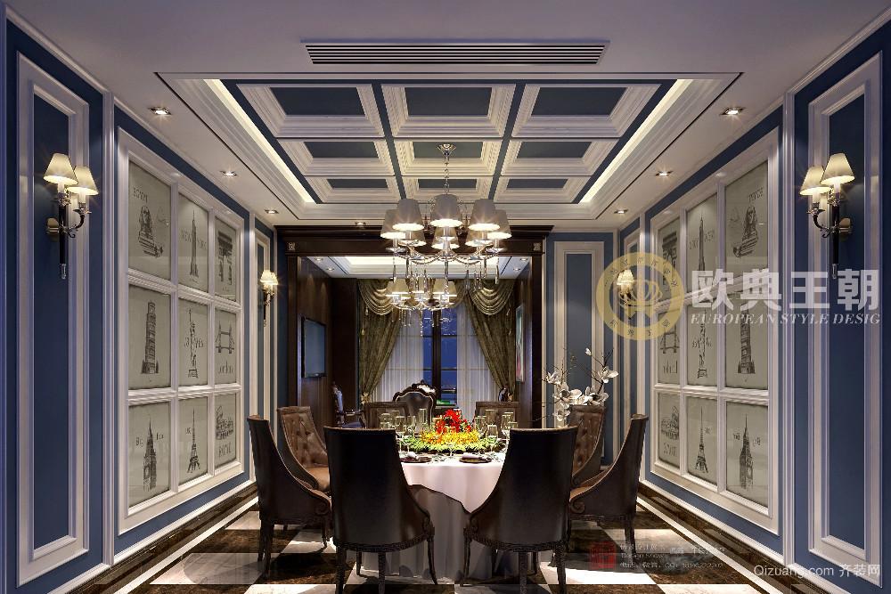 西藏拉萨午侯咖啡西餐厅古典风格装修效果图实景图