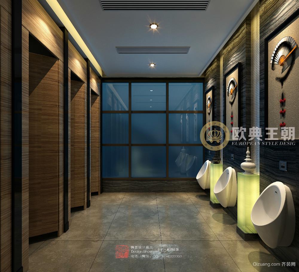 西藏拉萨蓉城故事火锅中式风格装修效果图实景图