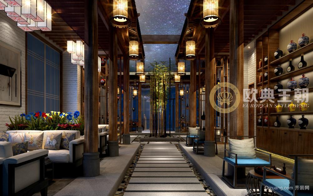 徐州中酒国际营销接待中心现代简约装修效果图实景图