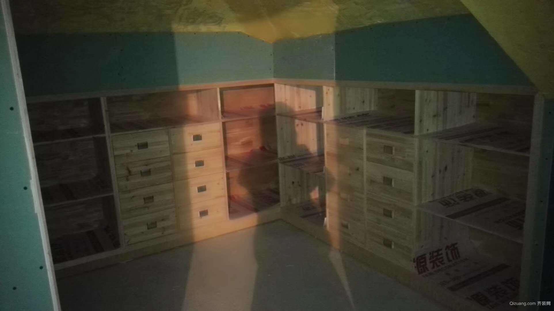 金世纪星运丽园兰逸现代简约装修效果图实景图