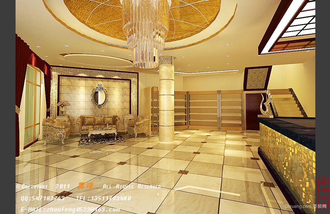 佳和宾馆欧式风格装修效果图实景图
