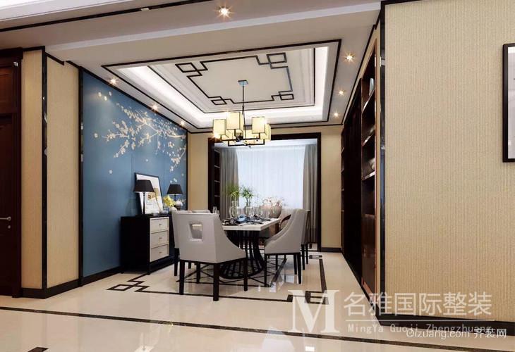 天马相城二期中式风格装修效果图实景图