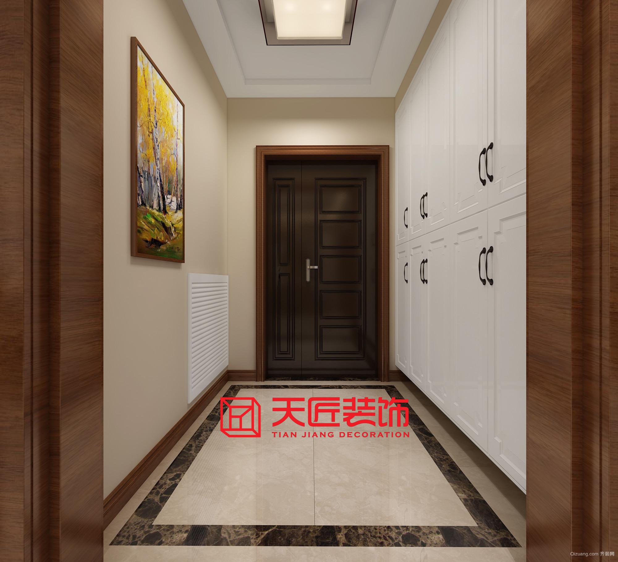 金地澜悦中式风格装修效果图实景图