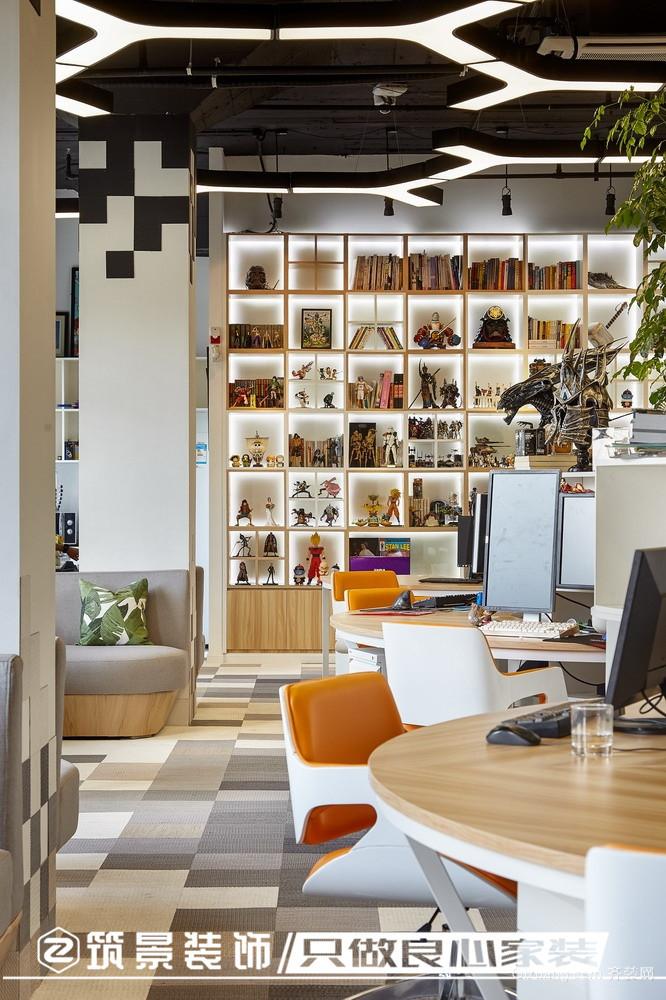 某办公室混搭风格装修效果图实景图
