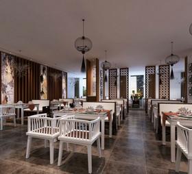 新中式雅致餐馆