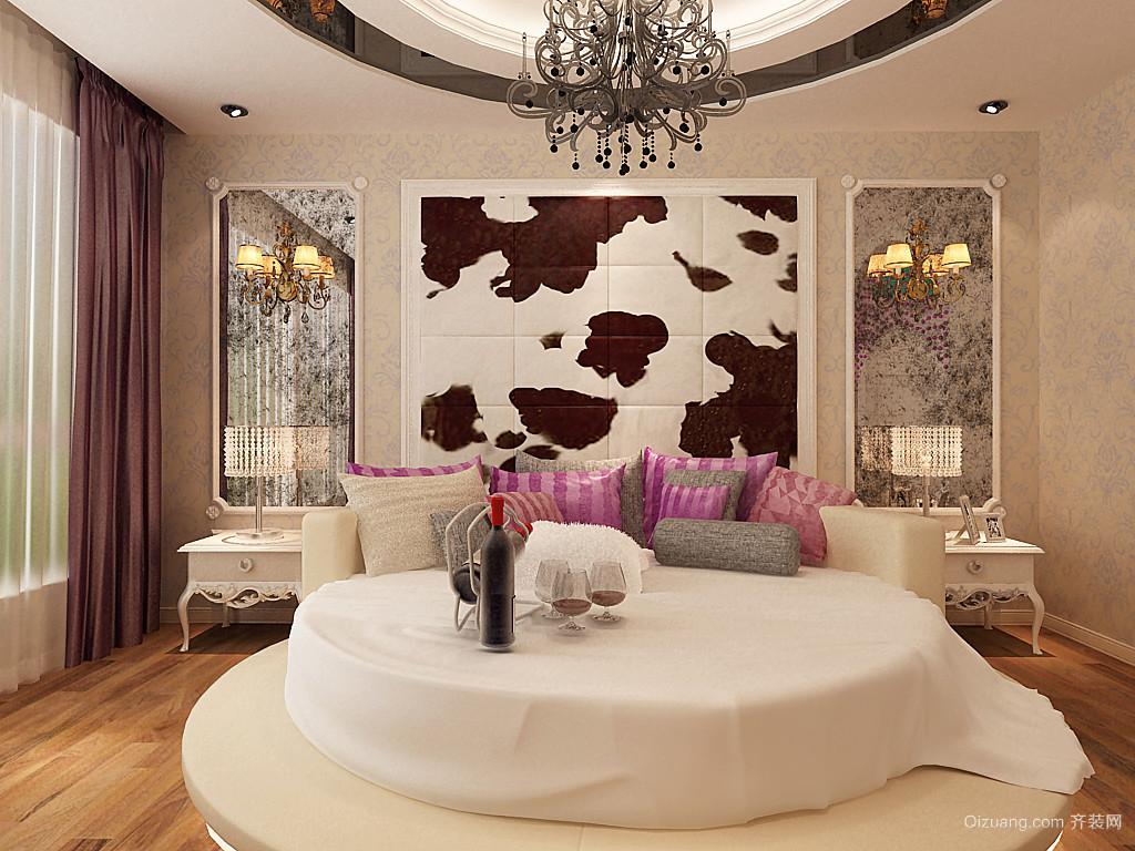 张家口维多利亚广场欧式风格装修效果图实景图