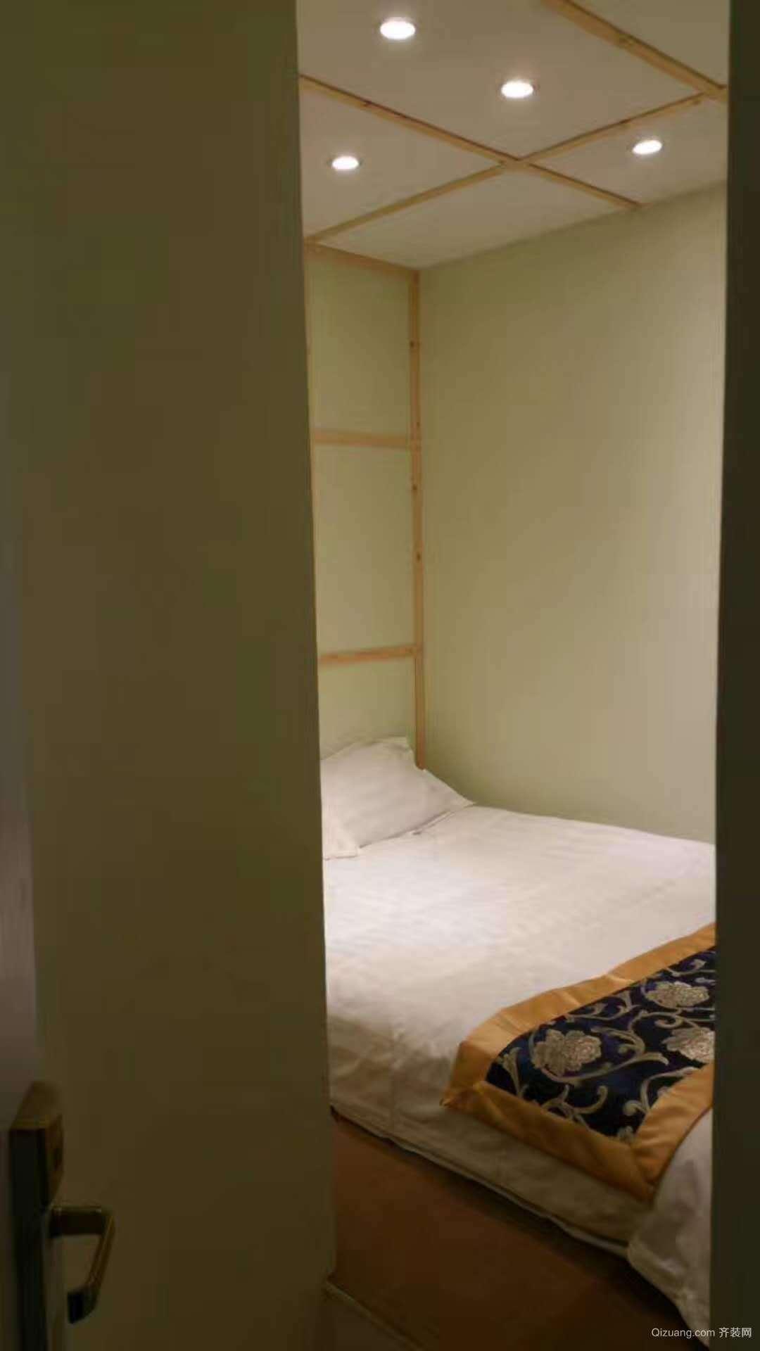 同人宾馆混搭风格装修效果图实景图