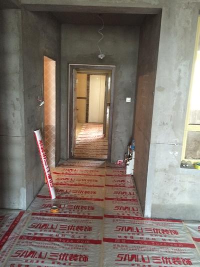 张家口地面保护装修设计案例