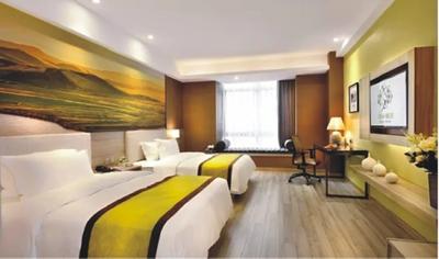 金堂亚朵酒店装修设计装修设计案例