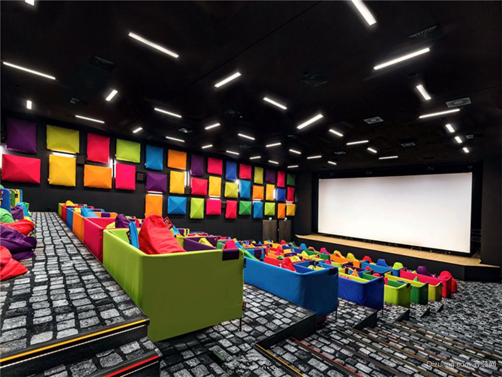 电影院现代简约装修效果图实景图