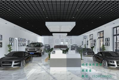 香河永达之星汽车展厅装修设计案例
