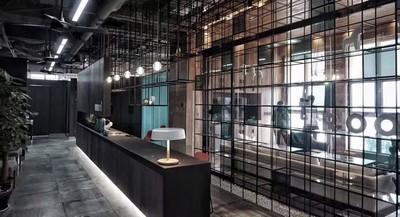 成都地产办公室装修设计装修设计案例
