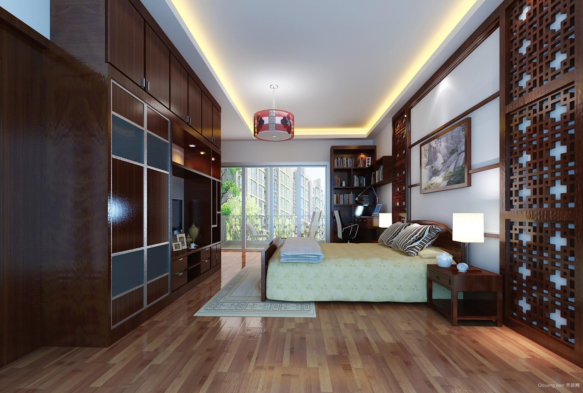 南桂园中式风格装修效果图实景图