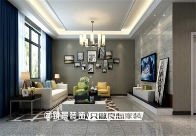 芜湖电视背景墙装修设计案例