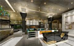 上海UPTOWN餐厅设计