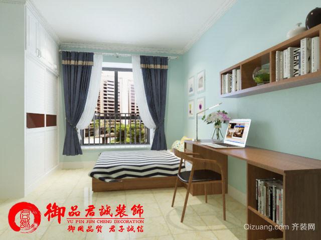 东升丽城花园现代简约装修效果图实景图