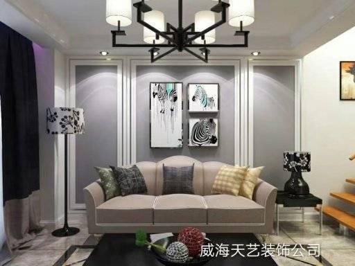 荣成3500㎡现代简约装修案例