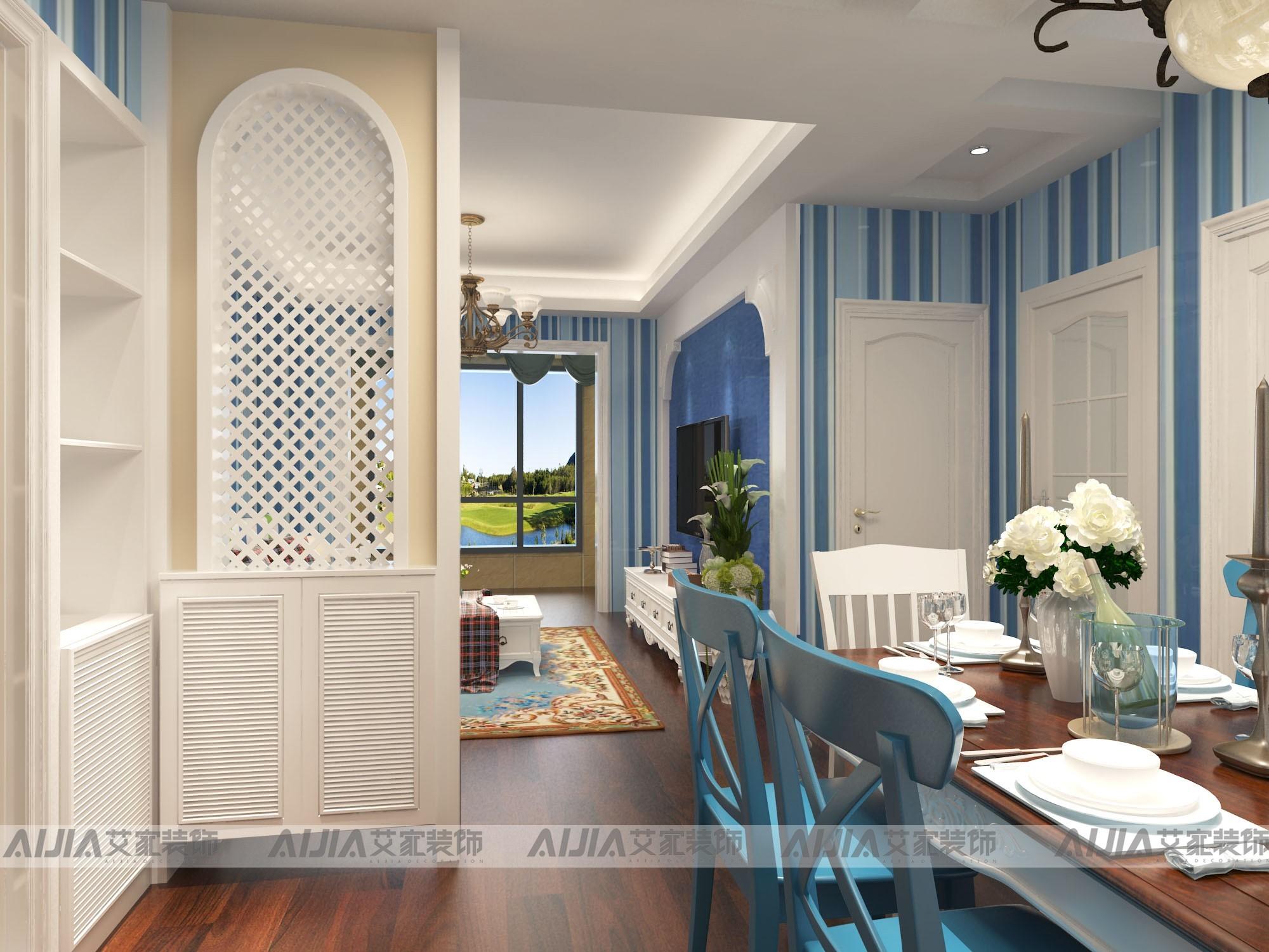 正和城地中海风格装修效果图实景图