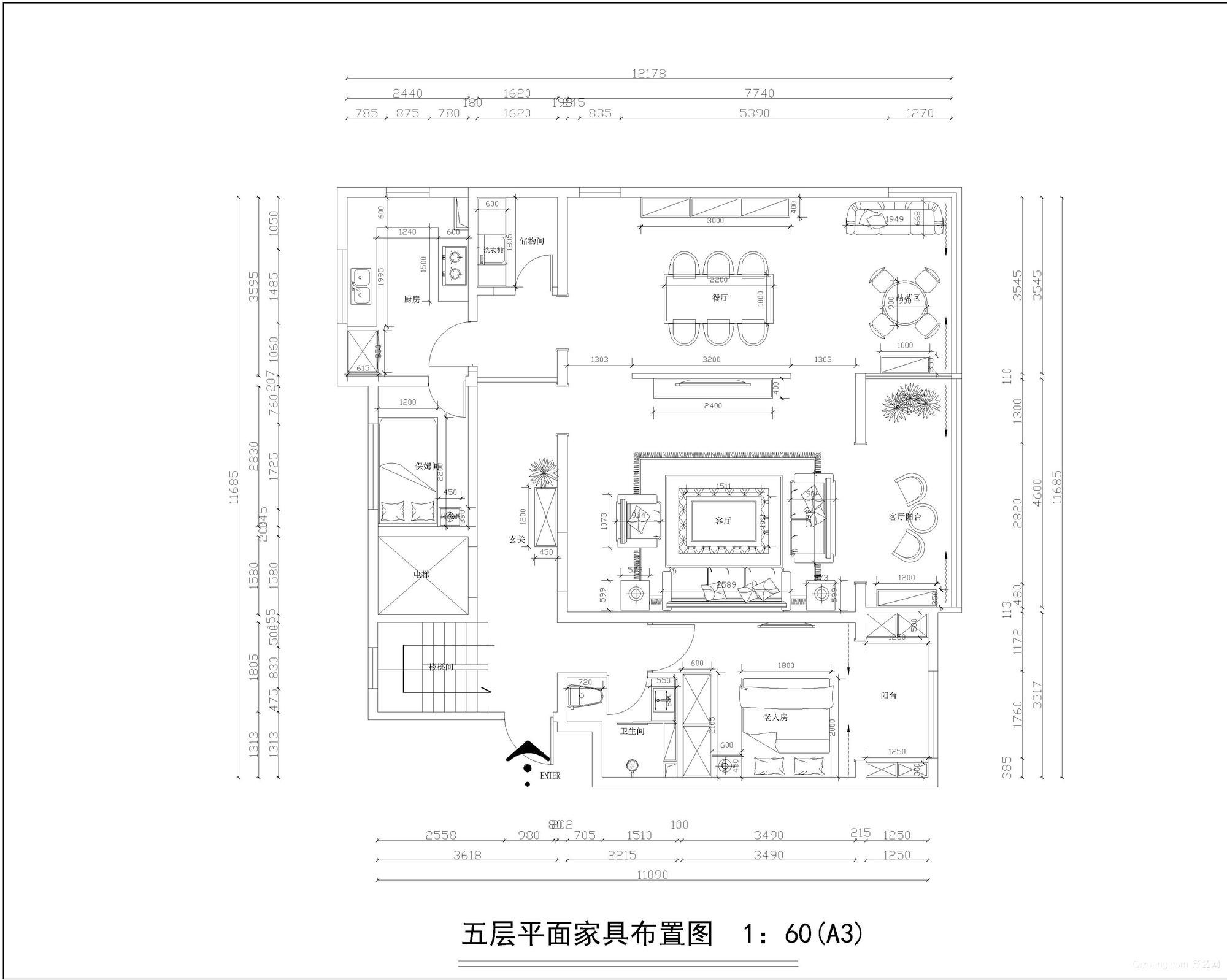 金隅78墅现代简约装修效果图实景图