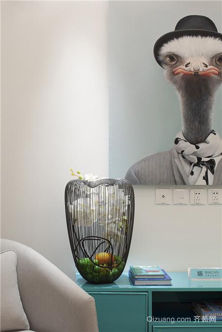 融创凡尔赛领馆现代简约装修效果图实景图