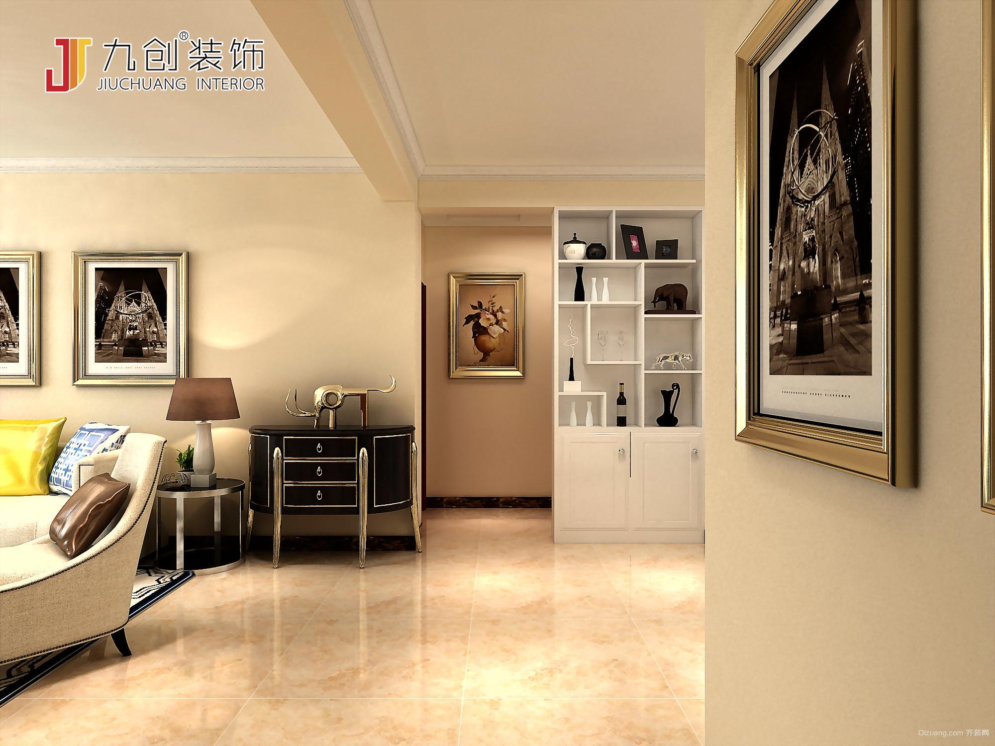 恒宏城现代简约装修效果图实景图