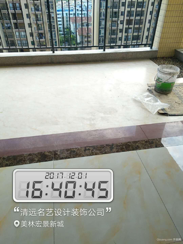 美林宏景新城中式风格装修效果图实景图