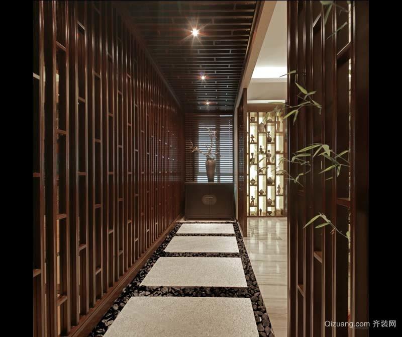 中旅·紫金名门中式风格装修效果图实景图