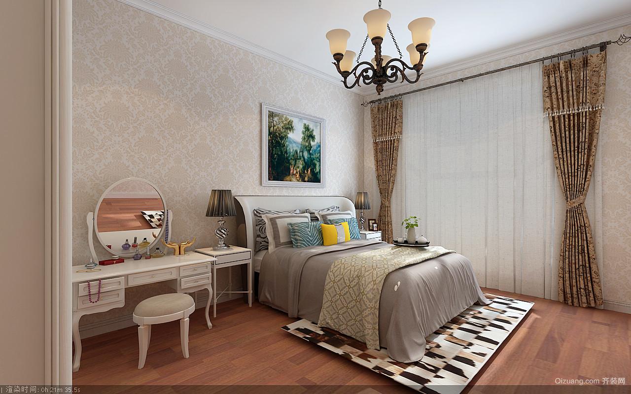 新新怡园欧式风格装修效果图实景图