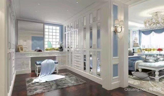 卓越蔚蓝群岛别墅欧式风格装修效果图实景图