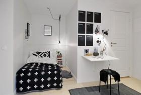 黑白北欧风 新天地50平公寓