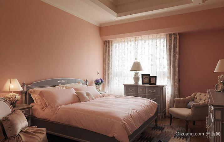 紫林湾美式风格装修效果图实景图
