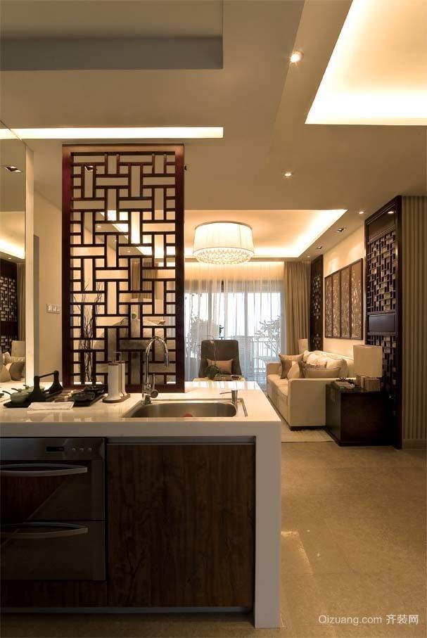 九龙国际中式风格装修效果图实景图