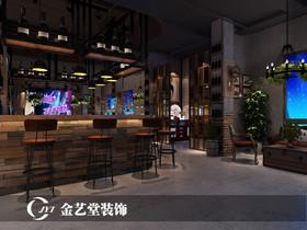 三河古镇夜畔酒吧