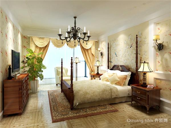 山城名邸美式风格装修效果图实景图