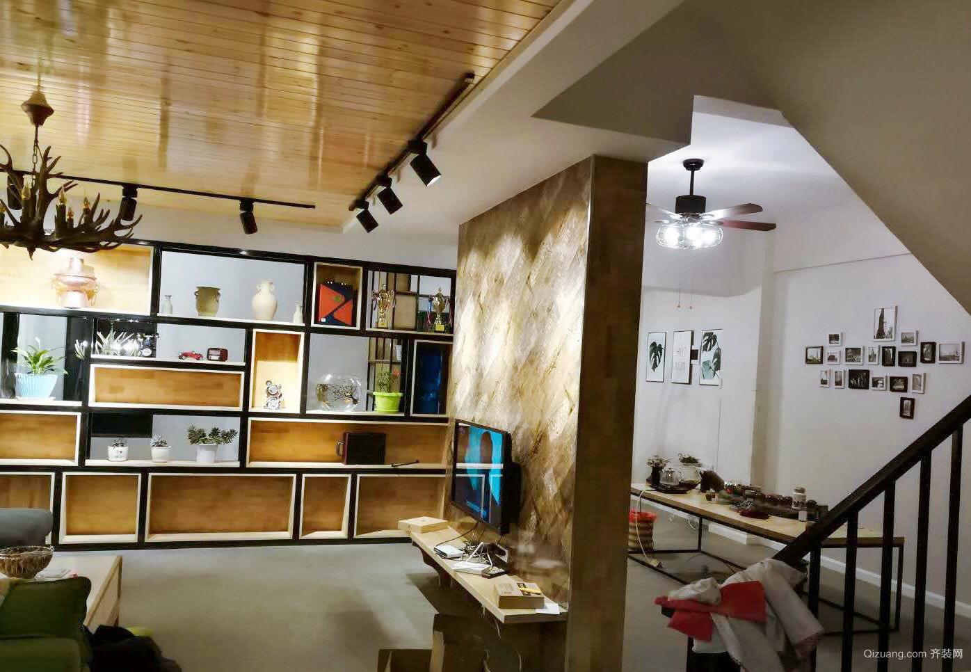 品味商苑混搭风格装修效果图实景图