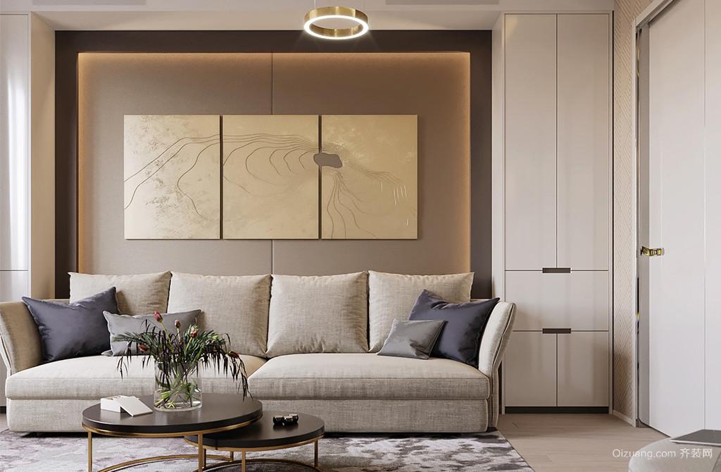长江之家现代简约装修效果图实景图