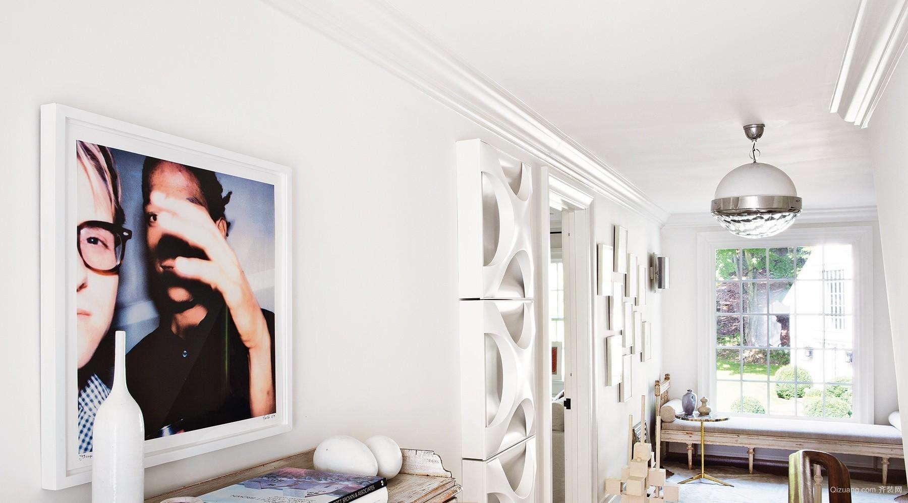 棕榈泉悦江国际欧式风格装修效果图实景图