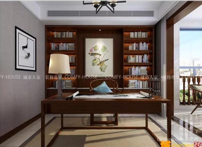 宝龙广场中式风格装修效果图实景图