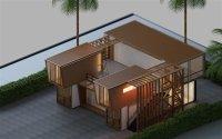 万达·维多利亚湾现代简约装修效果图实景图