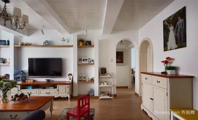 泰兴家园美式风格装修效果图实景图
