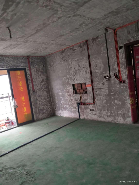 蓝光御江台中式风格装修效果图实景图