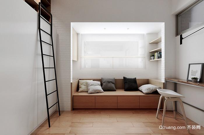 简约风格loft现代简约装修效果图实景图