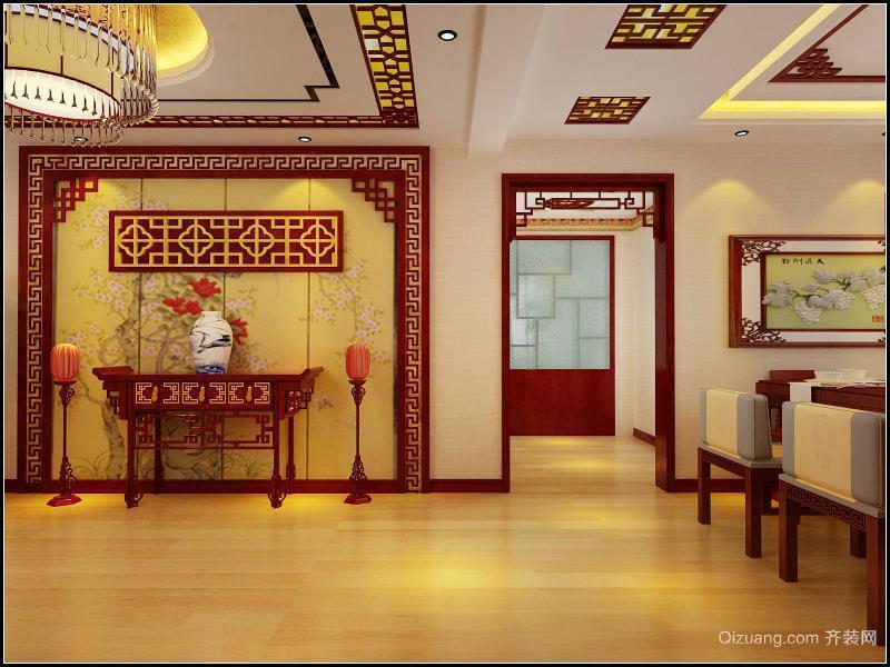 新华联广场中式风格装修效果图实景图