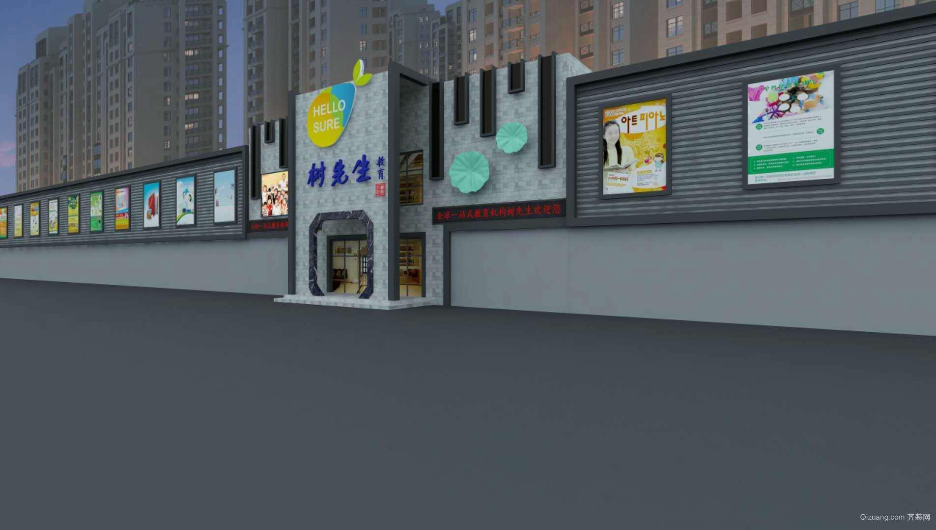 河南岸中心小区现代简约装修效果图实景图