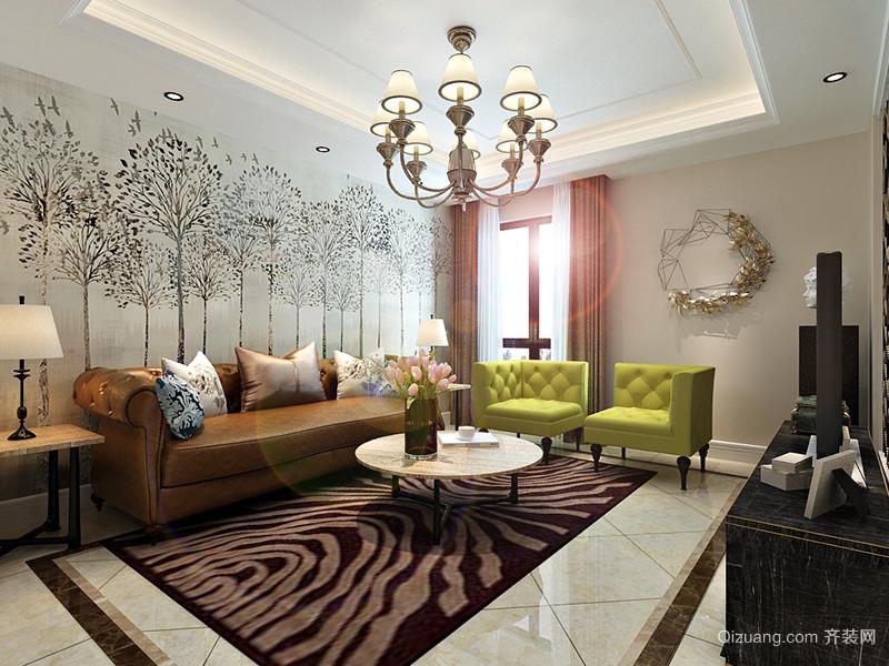 宣颐家园欧式风格装修效果图实景图