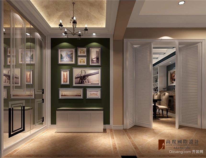 K2百合湾美式风格装修效果图实景图