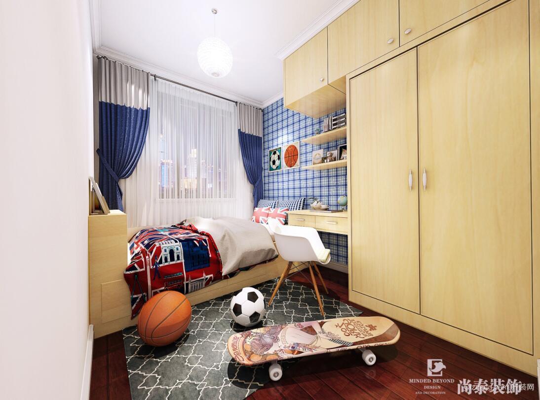 深圳市祥琪花园+祺凌阁E单元4楼+401室+现代简约装修效果图实景图