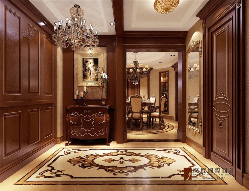 中海金石公馆古典风格装修效果图实景图